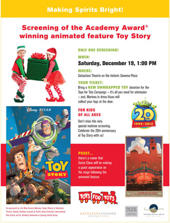 toy story flyer